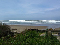 lincoln city beach access